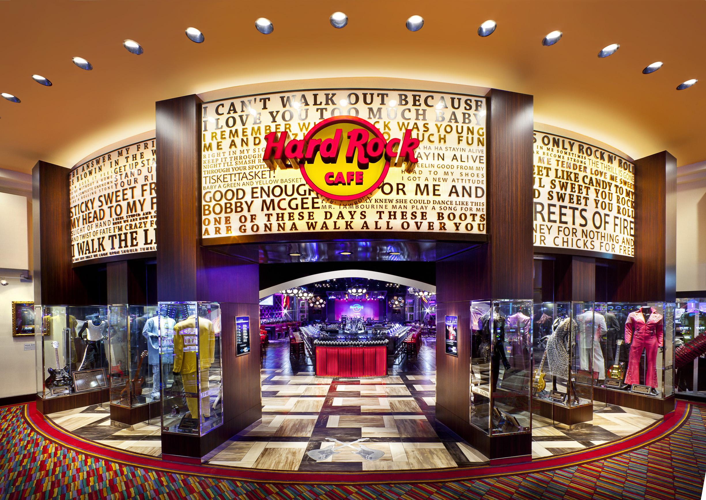 Hard Rock Casino Cafe Menu